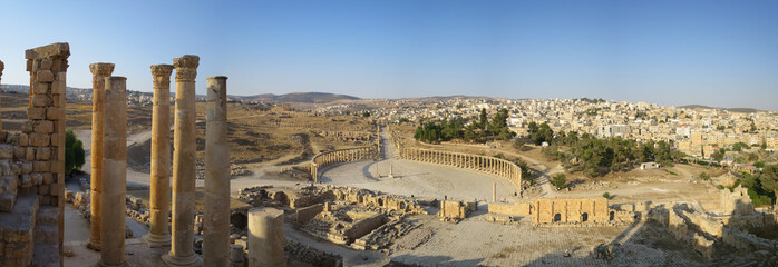 Zelfklevend Fotobehang Rudnes Roman Ruins