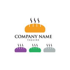 Cake Bakery Bread Cupcake Logo Icon Vector