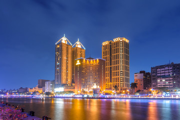 landscape of the love river in Kaohsiung, Taiwan