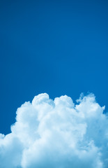 blue sky  and cloud with background