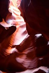 Page, USA - july 9 2016 : Antelope Canyon