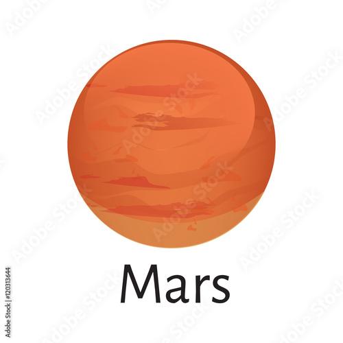 mars planet vector - photo #21