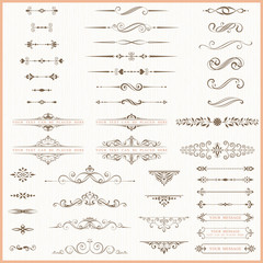 Page dividers and ornate elements.