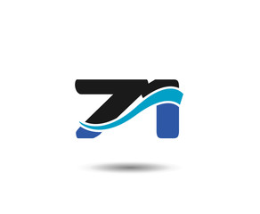 71th Year anniversary design logo