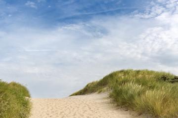 Weg zum Strand duch die Dünen