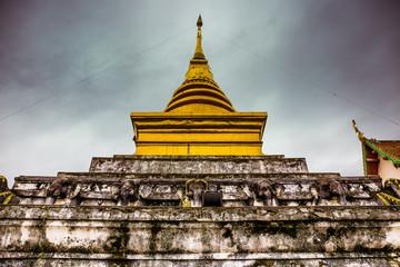 Wat Phra That Chang Kham , Nan province, Thailand.