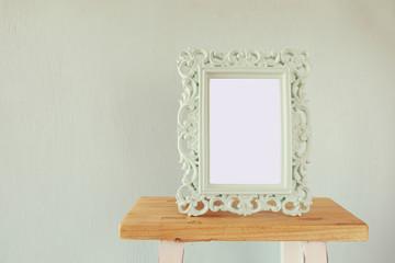 Image of vintage antique classical frame