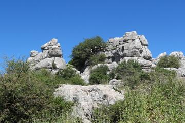 Espagne - Andalousie - El Torcal Formations géologiques