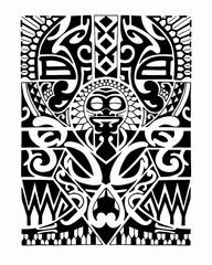 Maori tribal
