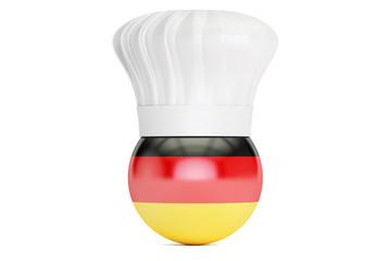 German cuisine concept, 3D rendering