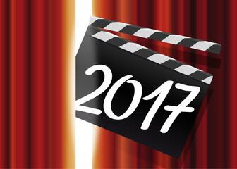 2017 - Cinéma - Clap -  Spectacle