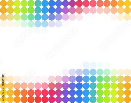 quotseamless rainbow colored polka dot backgroundquot stock