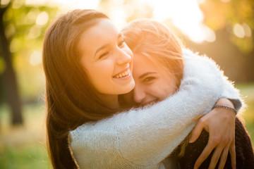 Happy friends outdoor