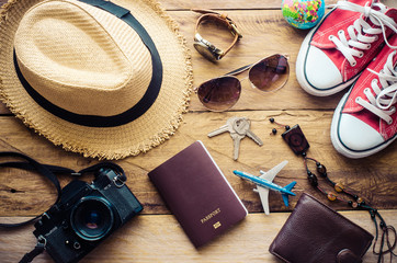 Travel Clothing accessories Apparel along for the trip