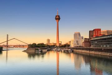 Medienhafen in Düsseldorf - Deutschland