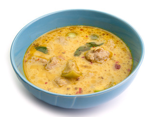 Thailand food Green curry , Intense soup