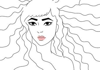 Illustrazione femminile