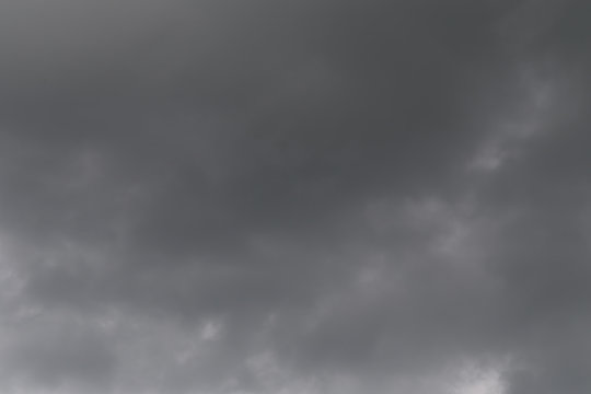 Rain clouds forming in the sky in concept of climate.