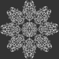 Decorative mandala. Illustration