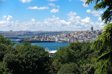 View of New Istanbul and the Galata Tower
