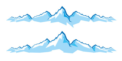 mountains, góry, logo