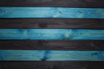 Dark blue wood background