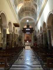 Terracina Cathedral , Italy. (Saint Caesarius of Terracina)