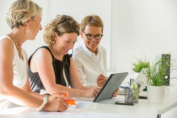 female business team