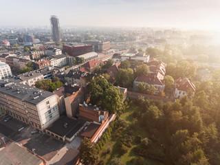 Botanical garden in Krakow