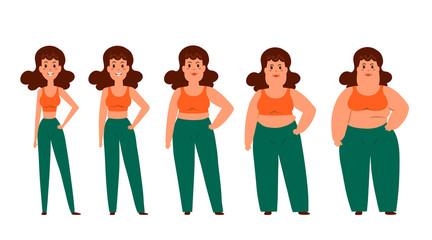 Cartoon funny characters