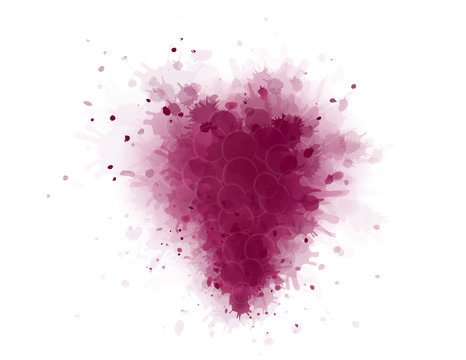art grape splash