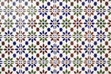 Beautiful arabic mosaic tiles