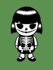 Halloween Doll. Vector Illustration