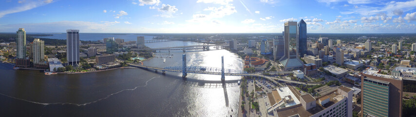 Aerial photo of Downtown Jacksonville