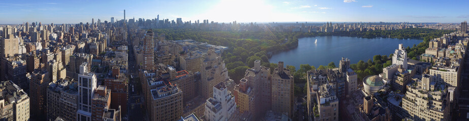 Aerial image New York Central Park
