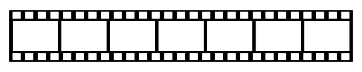 Leerer Foto Filmstreifen
