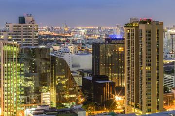 Foto op Canvas Canada View Bangkok city tour assistance at sunset