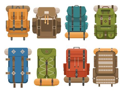 Camping Backpack Set