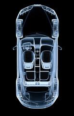 Top x-ray car