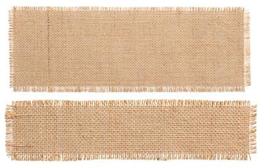 Burlap Fabric Patch Piece, Rustic Hessian Sack Cloth