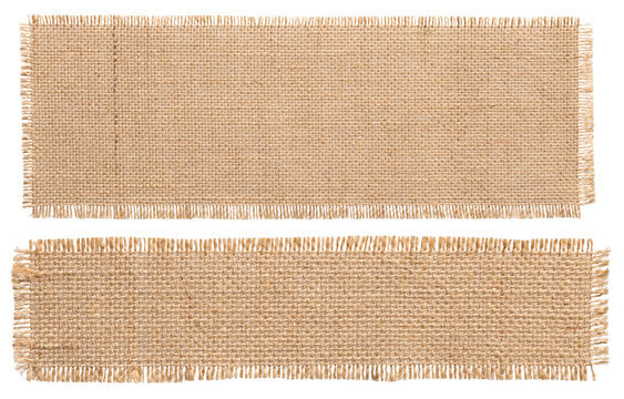 Burlap Fabric Patch Piece, Rustic Hessian Sack Cloth