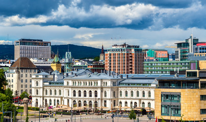 View of Oslo city centre