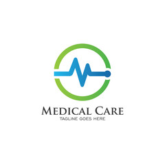 Medical Care Logo Creative Design