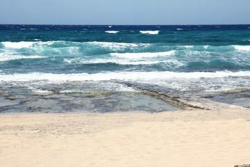 Sea shore background