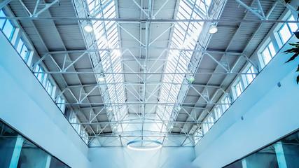 Skylight window - architectural background.