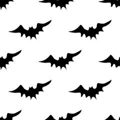 Scary bats pattern