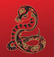 Snake - Chinese horoscope animal sign