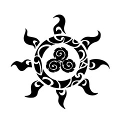 полинезия солнце