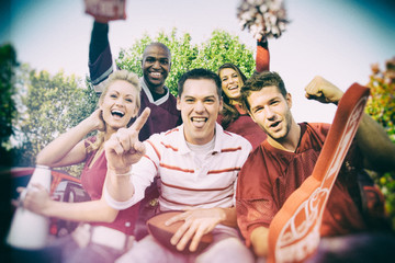Tailgating: Crazy Group Of College Football Fans