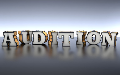 Audition - Music, Art and Theatre